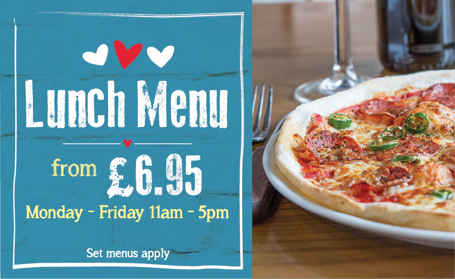 Lunch from £6.95