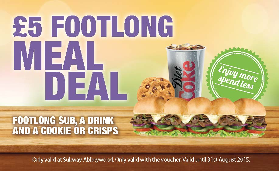 £5 Footlong Meal Deal