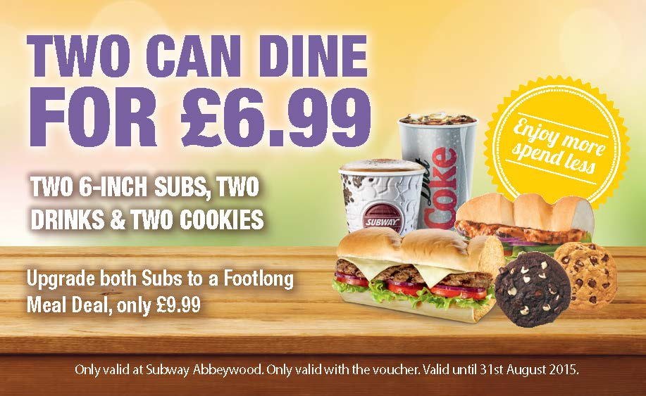 Two Can Dine For £6.99